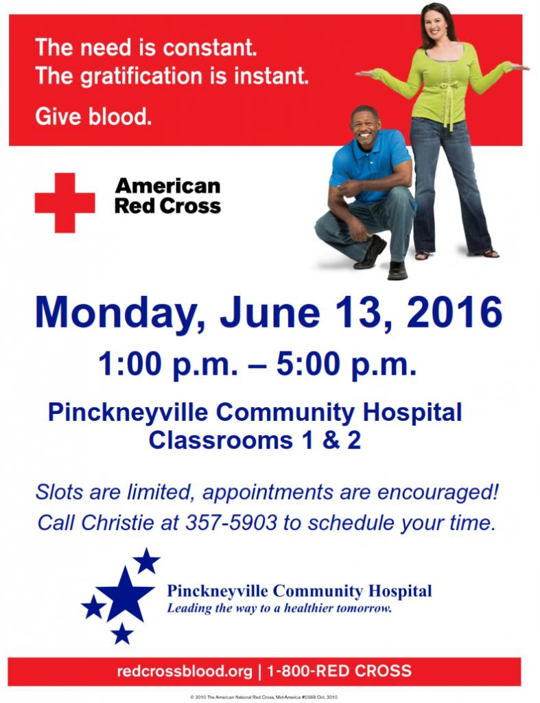 Blood Drive June 13